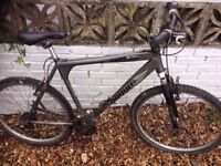 Excellent Mountain Bike - £50 - with Helmet and Protective Wear