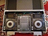 Pioneer CDJ2000 Nexus (x2) + Allen & Heath Xone 92 Mixer + SwanFlight case