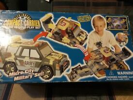 Micro Vehicle Play Set
