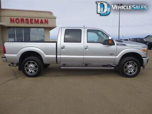 2015 Ford F-350 Lariat, 4x4, Moonroof, Nav, Leather