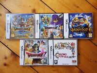 Job lot of 39 Nintendo DS Games including rare titles. Everything like new and playable on 3DS