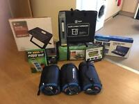 Brand new Tent and camping equipment