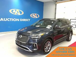 2017 Hyundai Santa Fe XL Limited W/3ROW! AWD! LEATHER, PANO ROOF