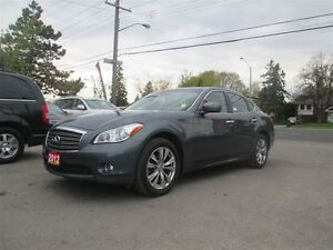 2012 Infiniti M37x NAVIGATION BACK UP CAM LEATHER SUNROOF AWD