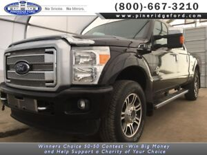 2013 Ford Super Duty F-350 SRW Platinum Crew Cab 6.5' Box