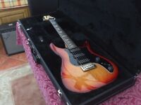 PRS NF3, A RARE AND SOUGHT AFTER PRS WITH BIRDS AND ORIGINAL HARD CASE IN ACE, NEAR MINT CONDITION!