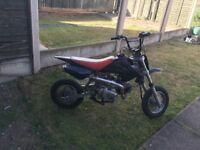 110cc pit bike quite rapid
