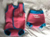 Water Babies Happy Nappy & Baby Wrap for Swim Classes (medium)