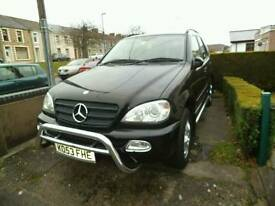Mercedes ML270 excellent condition