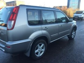 NISSAN X-TRAIL SVE 53REG 4x4 PETROL 5DR FULL YEAR MOT EXCELLENT CONDITION