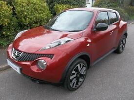 Nissan Juke 1.5 dCi N-Tec 5dr [Start Stop] (force red) 2014