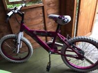 Huffy kids 18 inch bike excellent condition