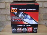 TRIPLE QX ULTIMATE CLEANING KIT COMPLETE VALETING KIT.