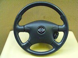 Nissan Almera steering wheel, 2000 to 2003.