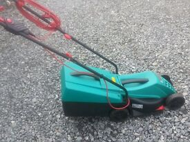 BOSH ELECTRIC ROTAK 32R LAWNMOWER IN VERY GOOD CONDITION