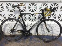 Felt F75 road bike with Mavic Ksyrium Elite wheels + upgrades