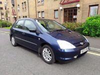 Honda Civic 1.6 - 5 seater & clean car * cheap car & small car