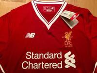 Liverpool home 2017/18 football shirts