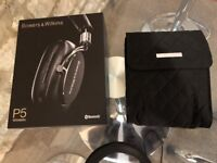 Bowers & Wilkins P5 Wireless Headphones - Black (perfect condition)