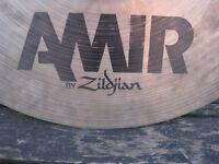 "Cymbals - Zildjian Amir 18"" Crash Cymbal - Very Rare"