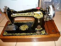 Antique Singer 15K sewing machine - 1910 Serial number F7864121