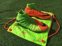Nike Hypervenom Phantom 3 Size 9.0 Football Boots(With Bag And Original Box)