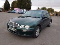 Rover 25 1.4 16v iL 5dr Cambelt Changed, Warranted Low Mileage, Long Mot, 550 Ono