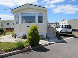 VERY LATE SPECIAL OFFER. DISABLED caravan Trecco Bay Porthcawl. 17 June, was 365, now £315