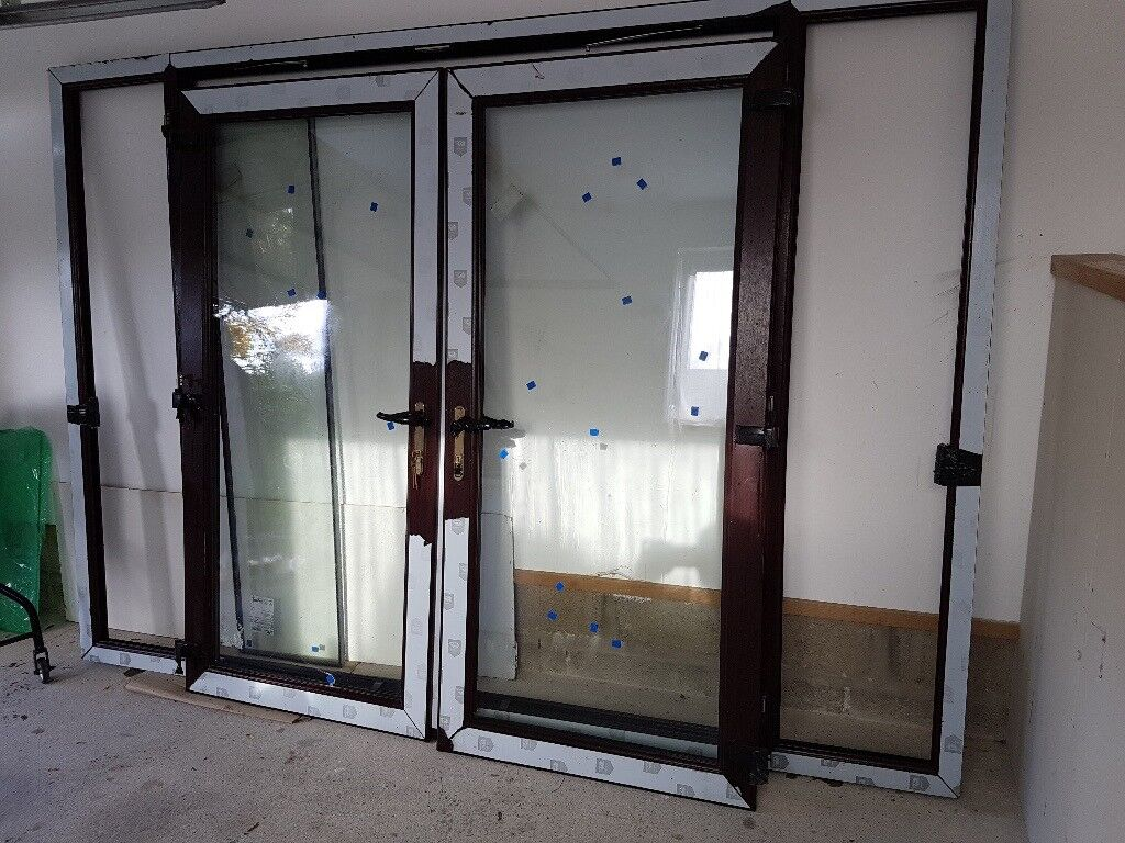 French window with side lights 2900mm