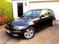 **1 PREV OWNER** 2009 59 BMW 118D SE 2.0 DIESEL 1 SERIES BLACK 5 DOOR MANUAL