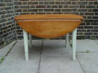 FREE DELIVERY Vintage Wooden Circular Table Retro Furniture