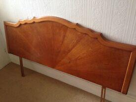 5 ft wood headboard