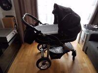 Bergsteiger Capri 3 in 1 travel system- pram* pushchair* car seat* bag* extras
