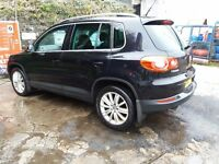 Vw tiguan 4motion sport ONLY 33600 miles LOOK!!!!!!!!!