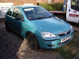 FOR SALE!!! 2004 VAUXHALL CORSA 1.0L £350