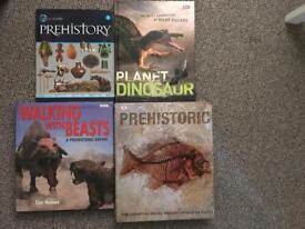 4 prehistoric books