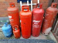 Bundle gas bottles