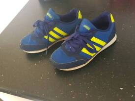 Adidas boys trainers size 13