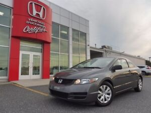 2011 Honda Civic Coupe DX-G Seulement 67 000km