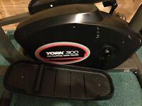York 3100 Black Exercise Bike/Treadmill.