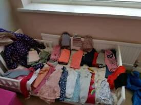 Huge bag girls 12-18 months