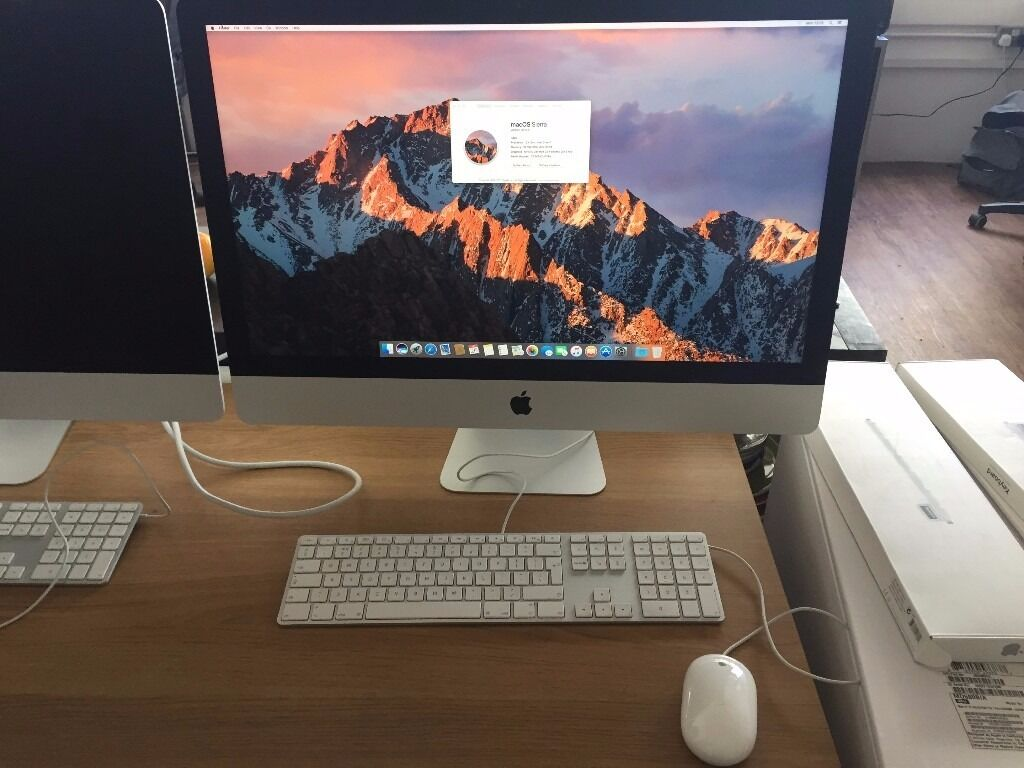 27 inch iMacin Brighton, East SussexGumtree - Specs are Late 2012, 27 inch 3.4GHz Core i7 32gb Ram We can do a VAT invoice for you so they can be VAT and TAX deducted. Great iMac, just selling due to upgrade. Great price, no offers please. Bank Transfer Preferred