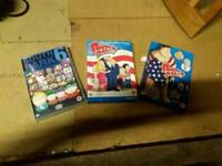 American dad and South park box sets