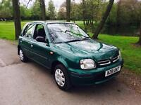 2000 Nissan Micra 1.0 Automatic Green 5 Dr 63,000