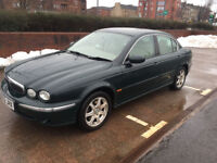"Jaguar x type 2.0 se 2002 ""52"" British racing green"