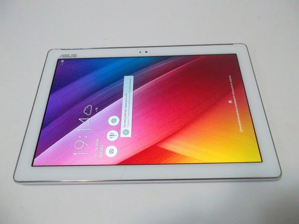 Asus ZenPad 10 P023 16GB Tablet WiFi Bluetooth Android Metallic Silver  10 1
