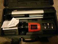 Forge steel laser level