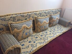 Gorgeous Arabic style floor seating