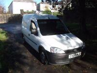 2007 '07' Vauxhall Combo Van - EX Welsh Water - Long MOT - 1700 CDTI