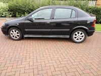 Astra (2004) hatchback 5d, black, no mot - £350 ono